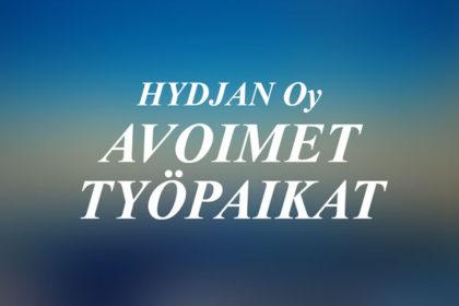 Hydjan Oy avoimet työpaikat
