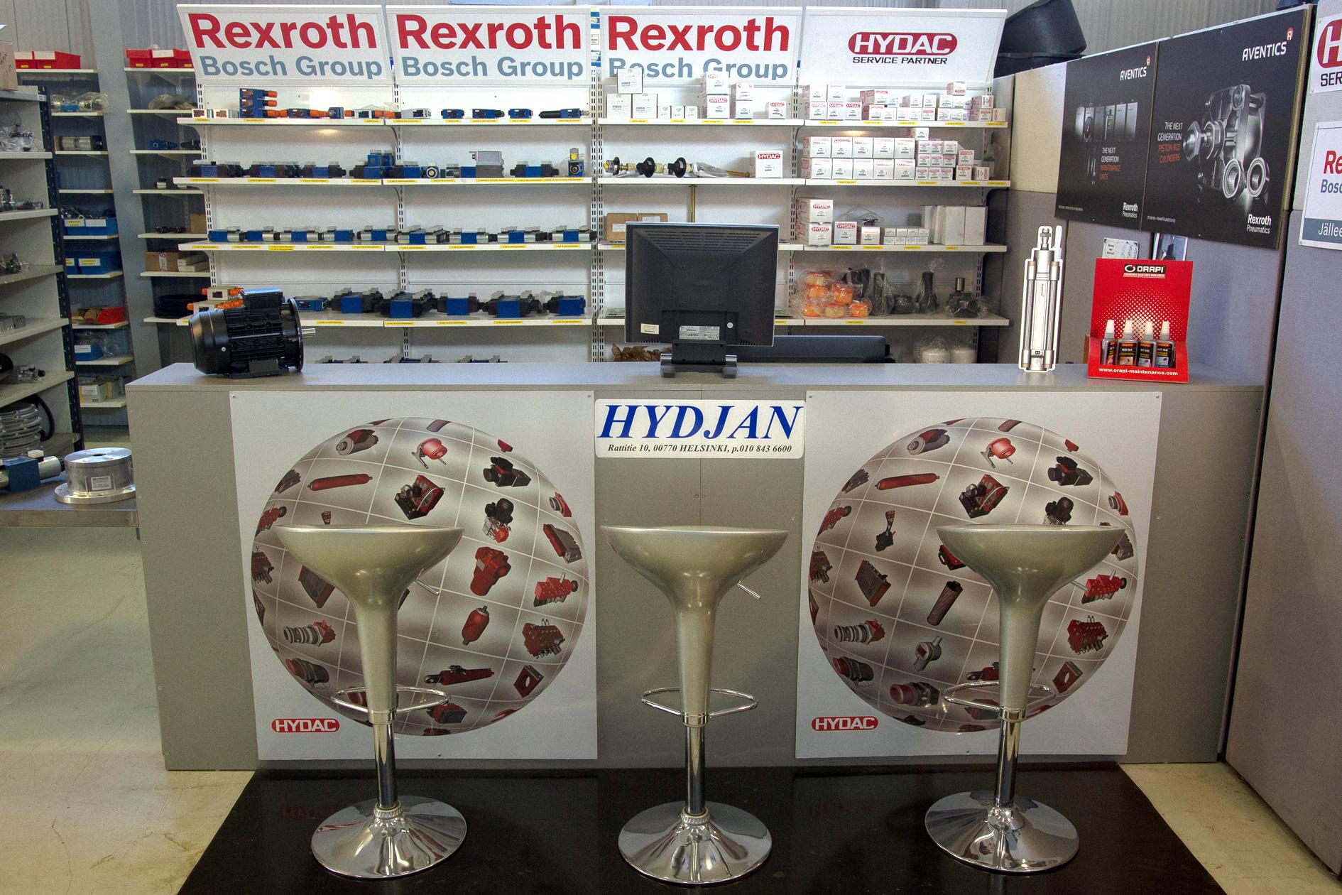Hydjan - hydrauliikan ammattilainen palveluksessasi